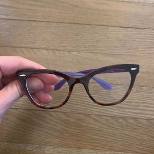 Ray-Ban 5226 cat-eye eyeglass frames 49-20-140